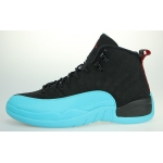 2013 Air Jordan 12 Retro 130690-027 Black Gym Red-Gamma Blue sale online