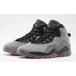 310805-023 Air Jordan 10 Retro  Cool Grey Infrared-Black