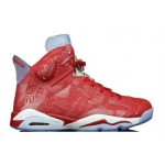 Order 2014 new 717302-600 Air Jordan 6 Retro Varsity Red Varsity Red-White