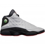 Pre order 2014 new 696298-023 Air Jordan 13 Retro Premium Reflective Silver Infrared 23-Black